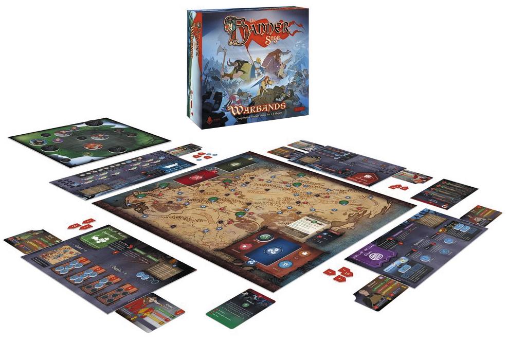 The Banner Saga: Warbands Box Front