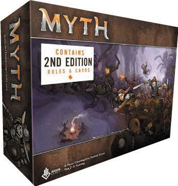 Myth: Board Game - 2nd Edition Box Front