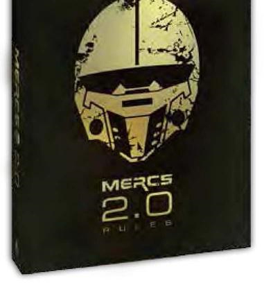 Mercs: Tabletop 2.0 Rules Box Front