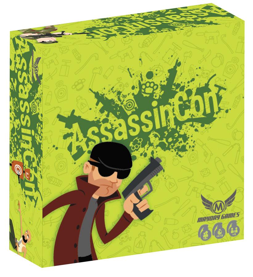 Assassincon Box Front