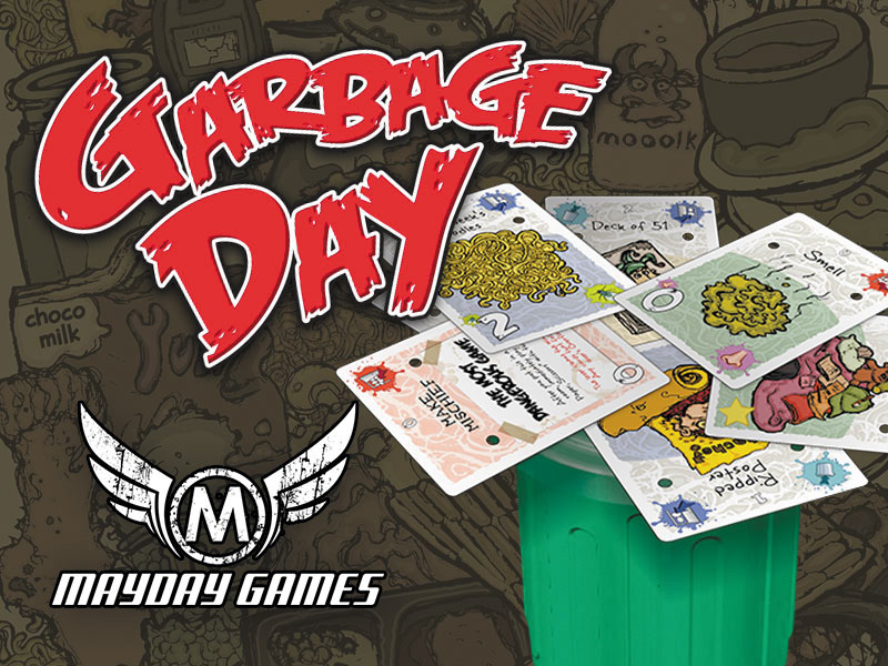 Garbage Day Box Front
