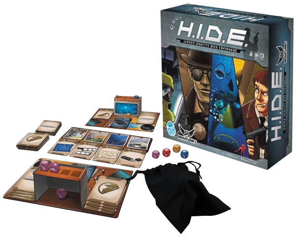 H.i.d.e. - Hidden Identity Dice Espionage Box Front