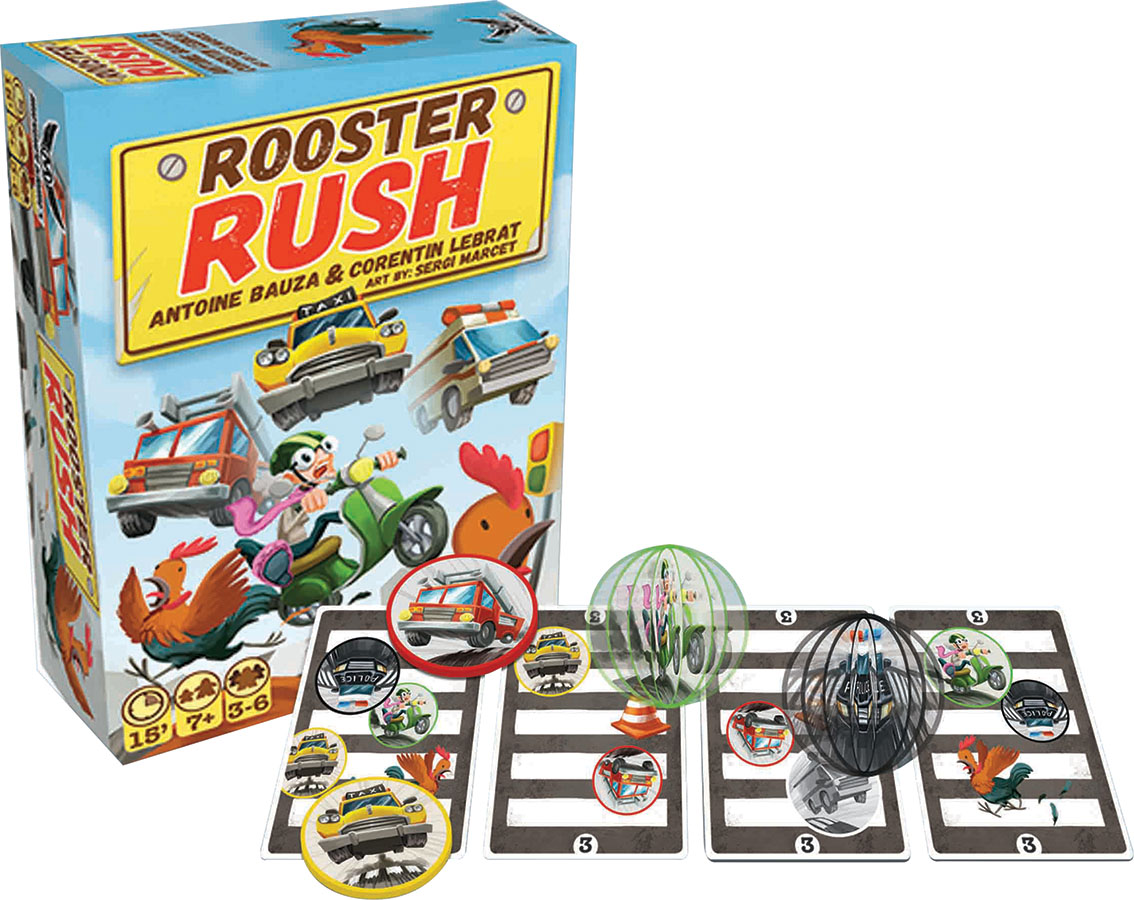Rooster Rush Box Front