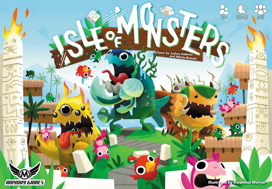 Isle Of Monsters Box Front