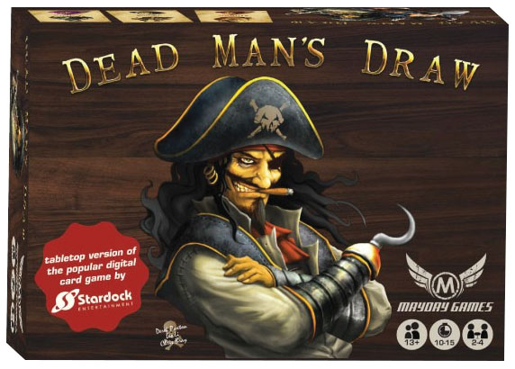Dead Man`s Draw Card Game Box Front