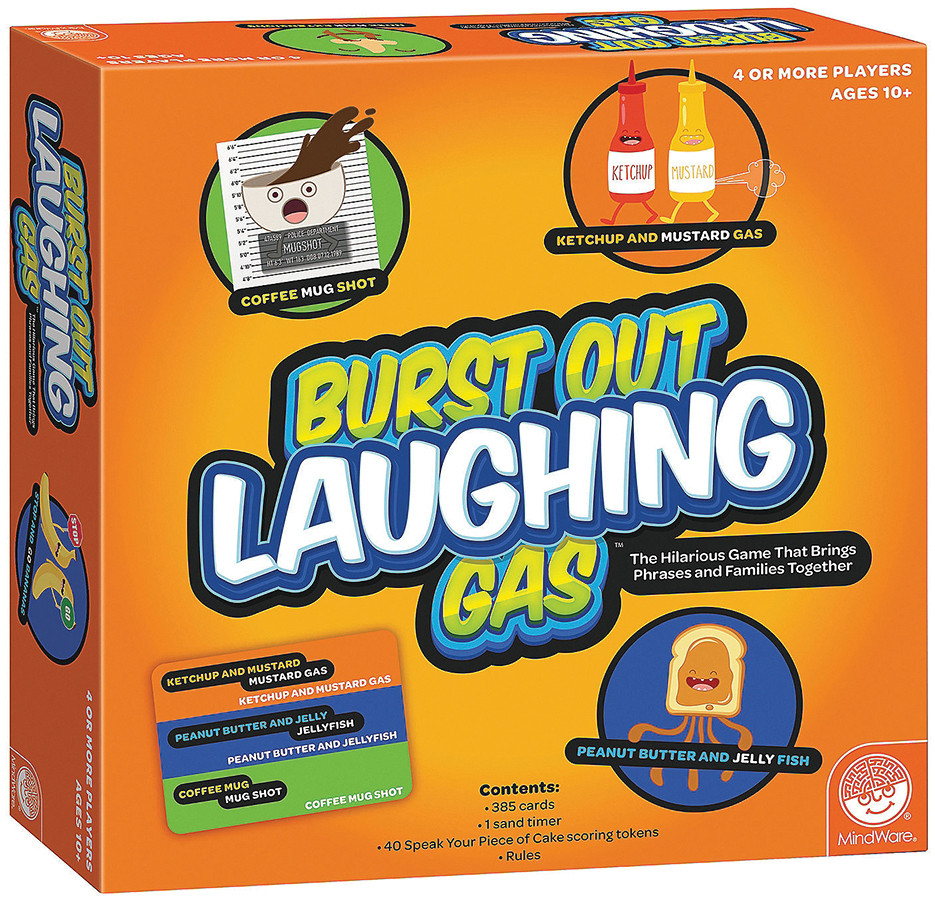 Burst Out Laughing Gas Box Front