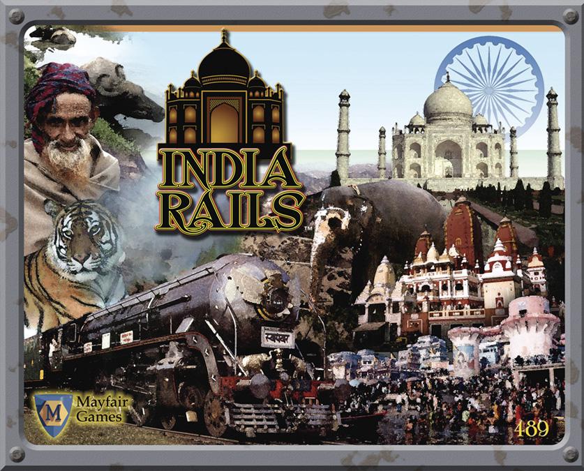 India Rails Box Front