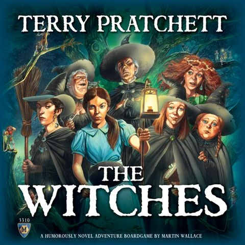 Discworld Witches Demo Copy Box Front