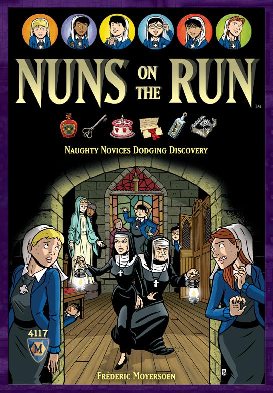 Nuns On The Run Demo Copy Box Front