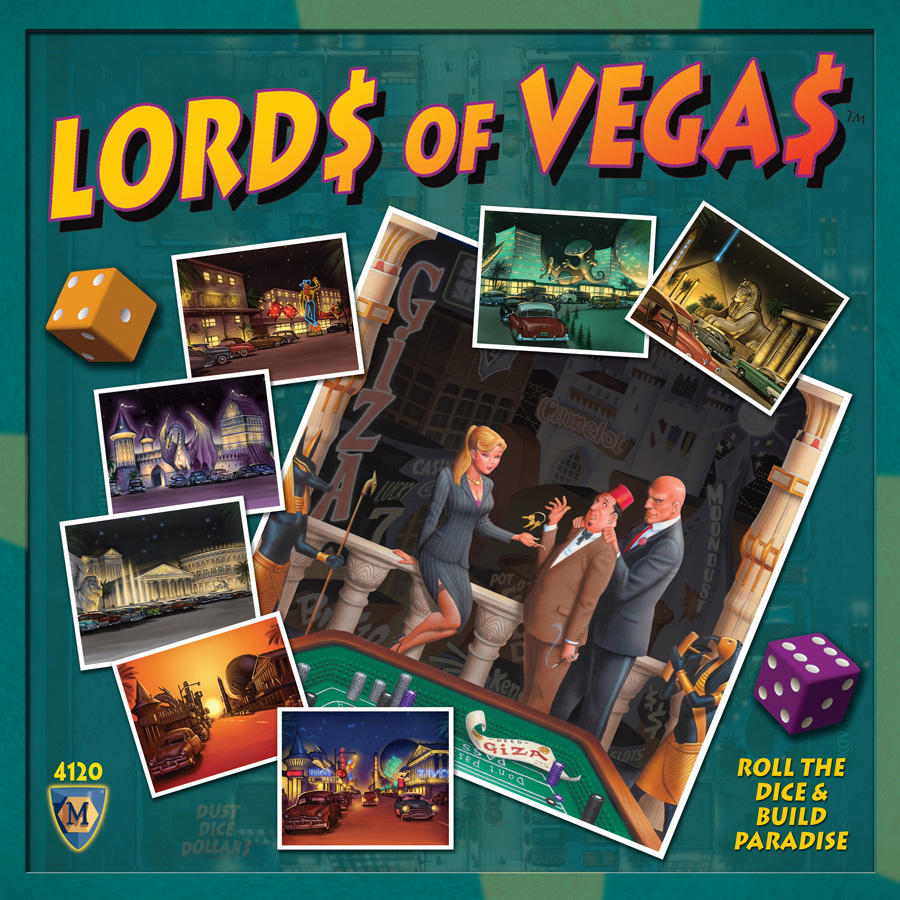 Lords Of Vegas Box Front