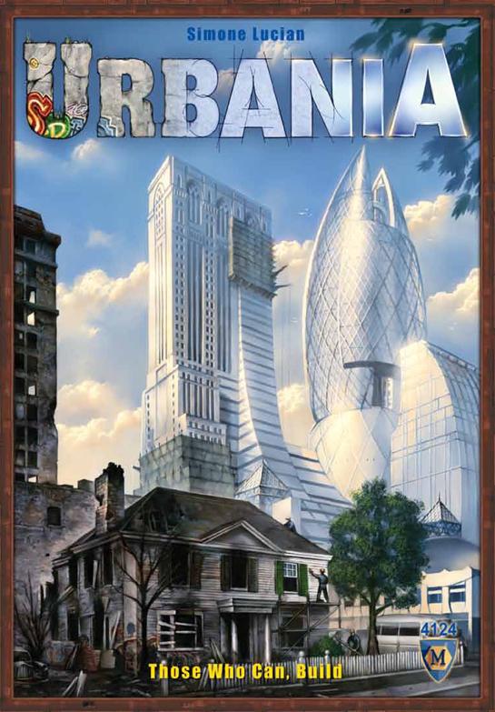 Urbania Progress, Profit, Power! Box Front