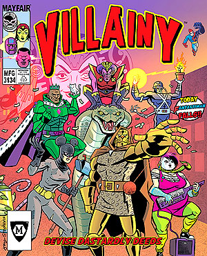 Villainy: Diabolical Doom-dealing Doers Of Dastardly Deeds Box Front
