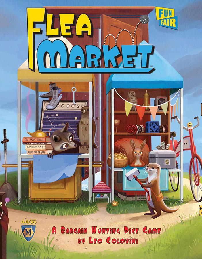 Flea Market Box Front