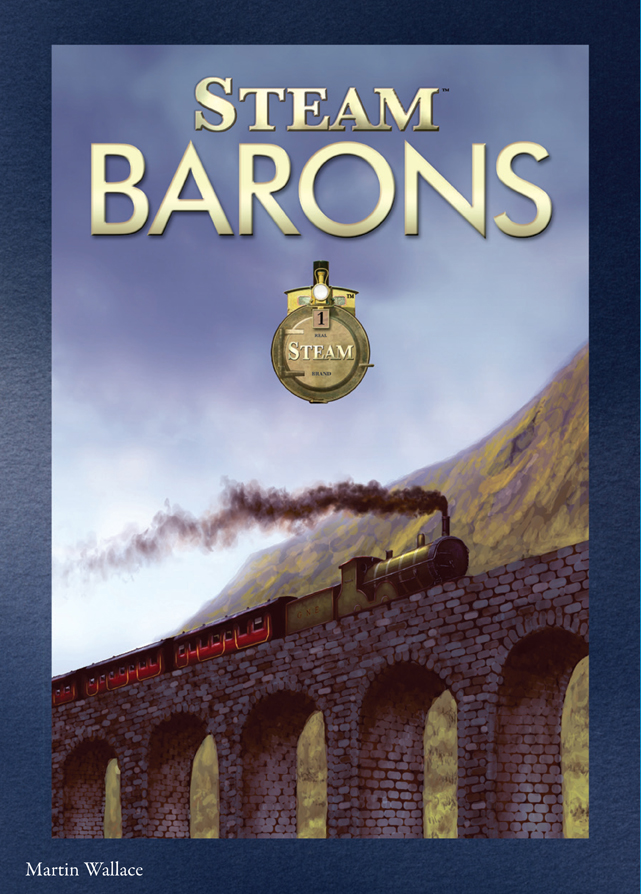 Steam: Barons Expansion Box Front