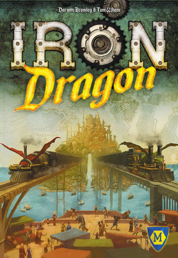 Iron Dragon Box Front
