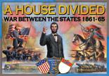 A House Divided: War Between The States 1861-1864 Box Front