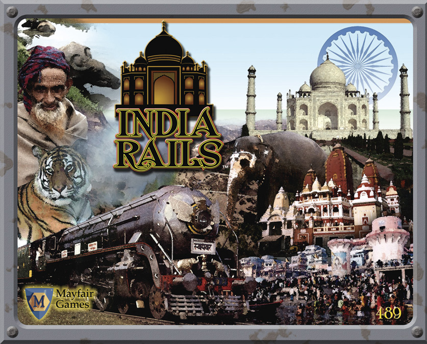 India Rails Game Box