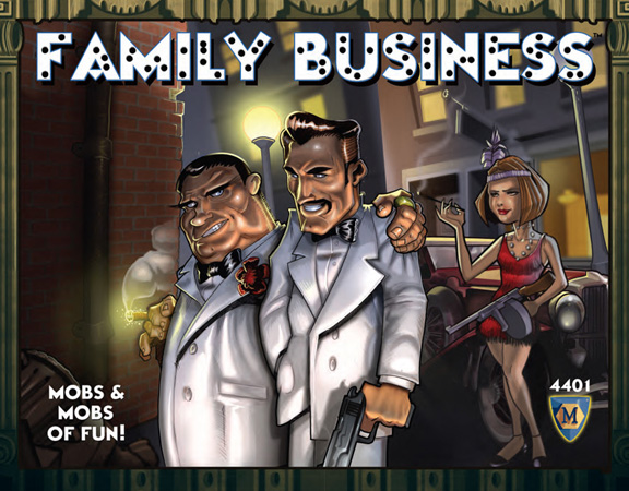 Family Business Game Box