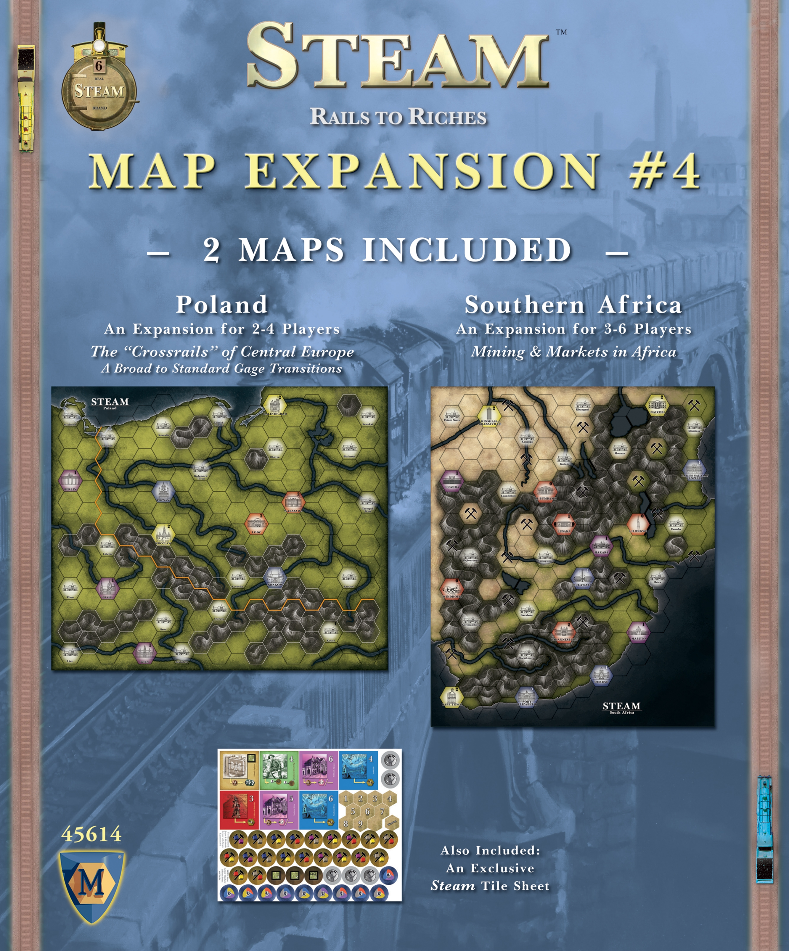 Steam: Map Expansion #4 Game Box
