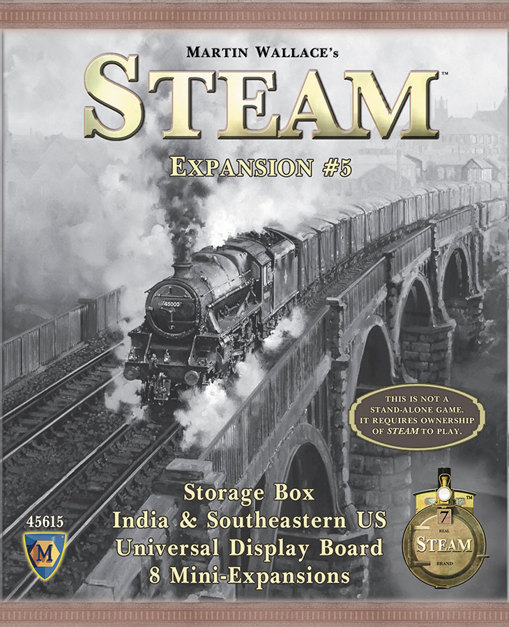 Steam: Map Expansion #5 Game Box