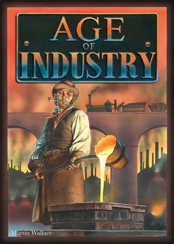 Age Of Industry Box Front