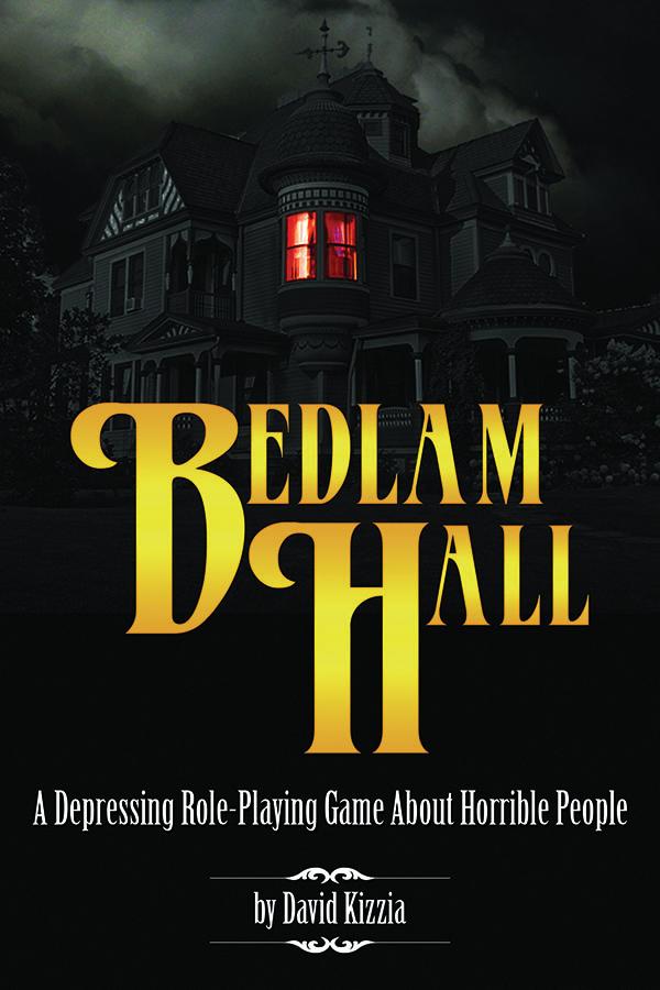 Bedlam Hall Rpg Box Front