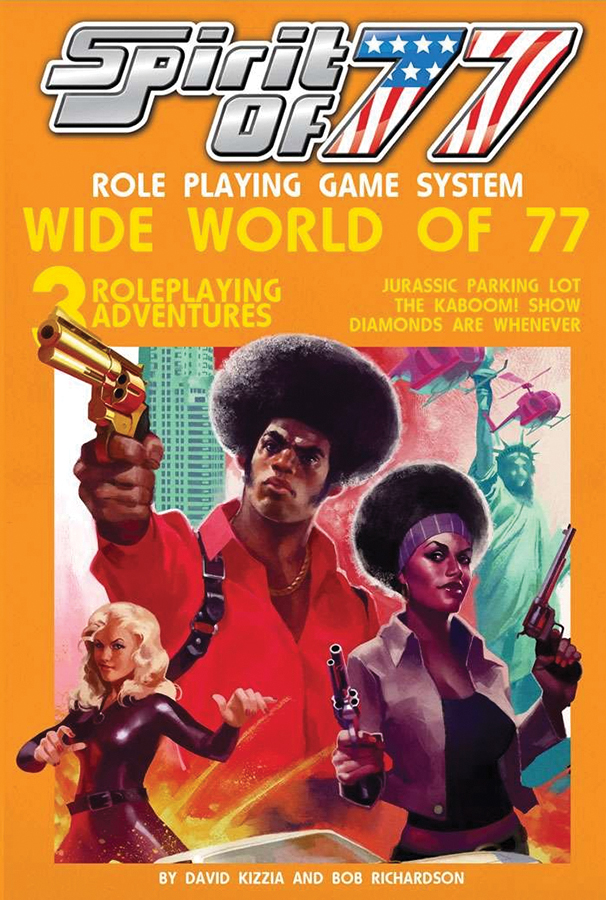 Spirit Of 77 Rpg: Wide World Of 77 Box Front