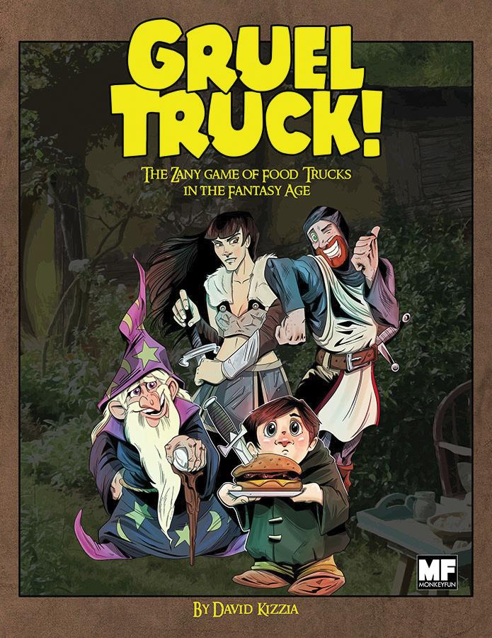 Gruel Truck Rpg Box Front