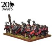 Kings Of War: Dwarf Shield Breakers Regiment (15) Box Front