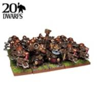 Kings Of War: Dwarf Ranger Regiment (20) Box Front