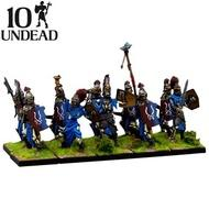 Kings Of War: Undead Revenant Command (10) Box Front