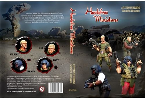 Hasslefree Zombie Hunters Box Front