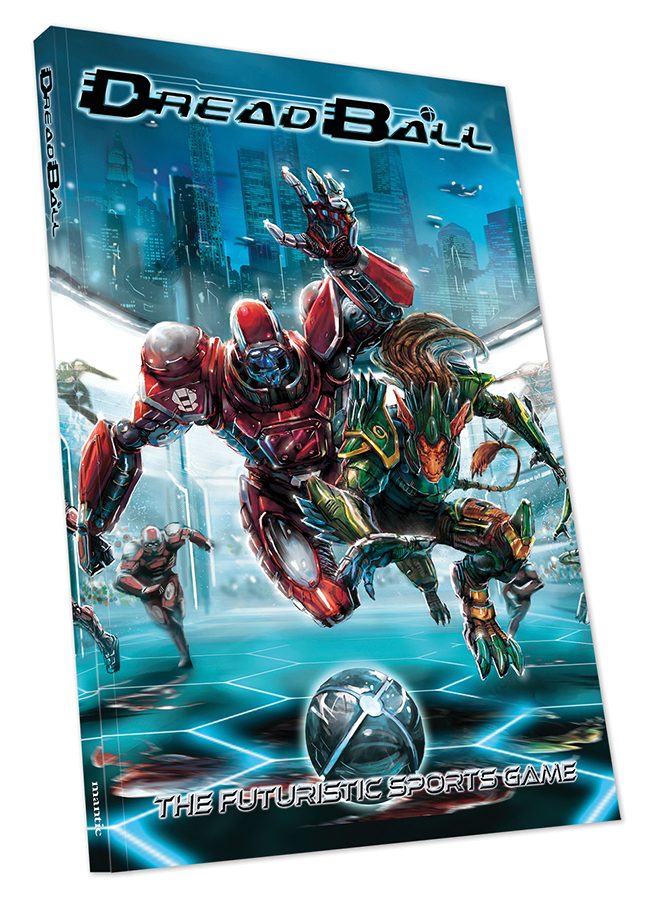 Dreadball: 2nd Edition Collector`s Edition Rulebook Box Front