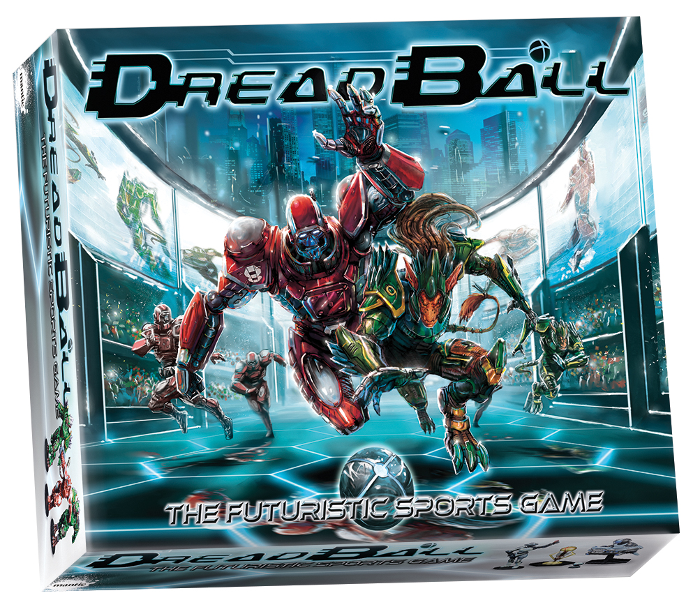 Dreadball: 2nd Edition Boxed Game Box Front