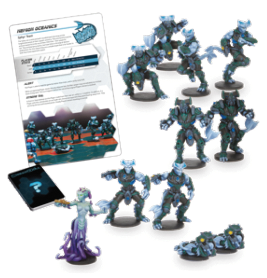 Dreadball: 2nd Edition Nemion Oceanics - Sphyr Team Box Front