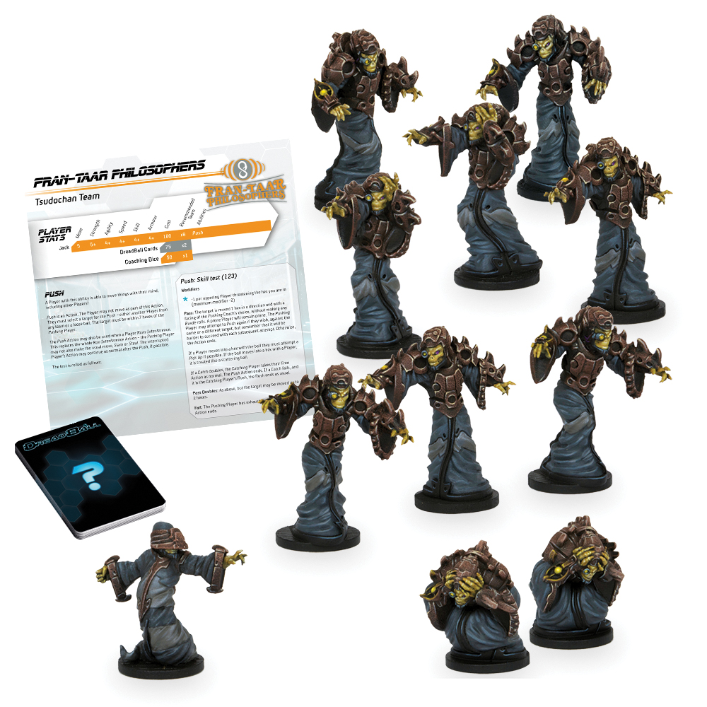 Dreadball: 2nd Edition Fran-taar Philosophers - Tsudochan Team Box Front