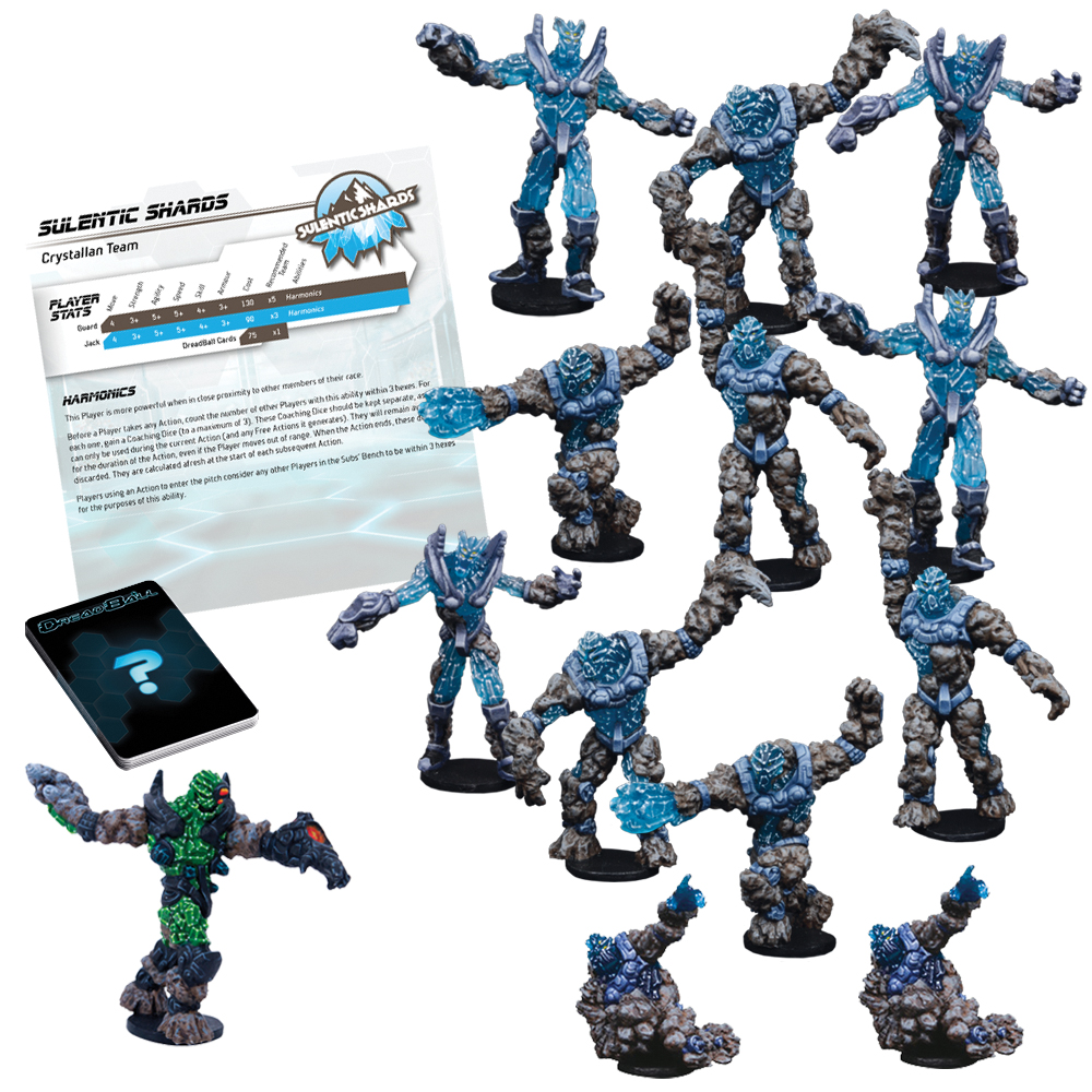 Dreadball: 2nd Edition Sulentic Shards - Crystallan Team Box Front