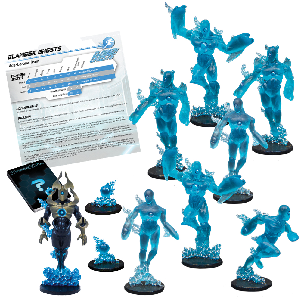 Dreadball: 2nd Edition Glambek Ghosts - Ada-lorana Team Box Front