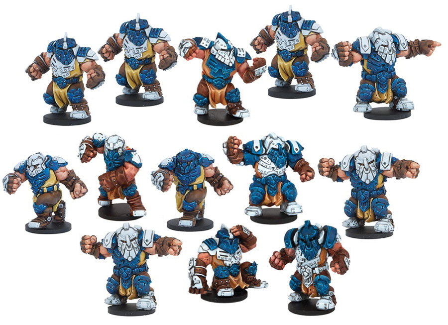 Dreadball: 2nd Edition Midgard Delvers - Forge Fathers Team Game Box
