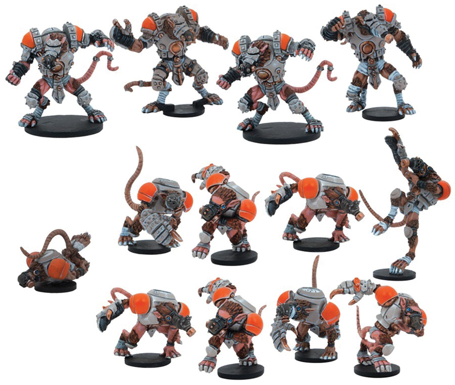 Dreadball: 2nd Edition Skittersneak Stealers - Veer-myn Team Game Box