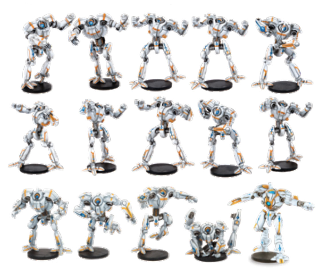 Dreadball: 2nd Edition Chromium Chargers - Metabots Team Game Box