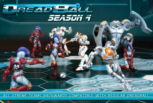 Dreadball: Season 4 Box Front