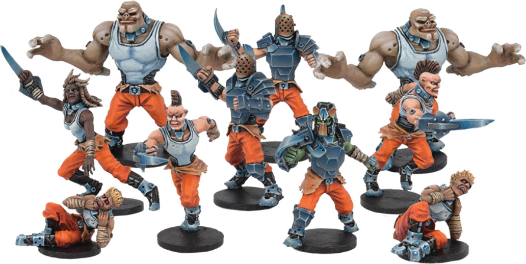 Dreadball Season 5: Long Rock Lifers, Convict Team (10) Box Front