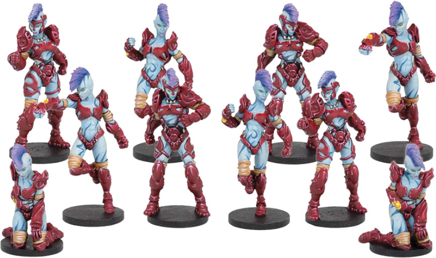 Dreadball Season 5: Bremlin Nebulas, Kalyshi Team (10) Box Front