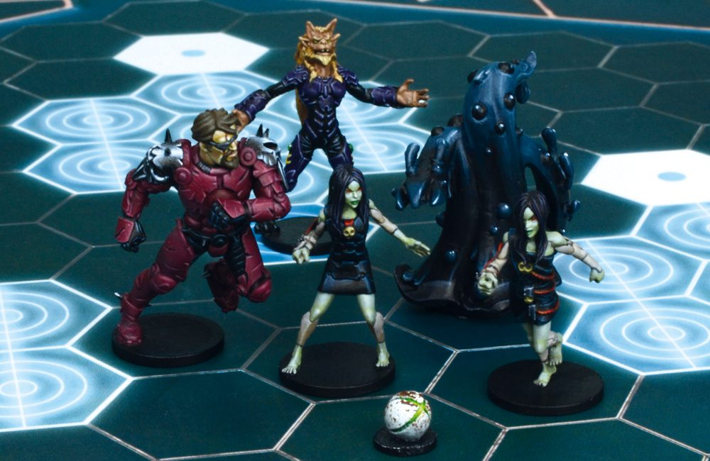 Dreadball: Hazard System Heroes, All Star Mvp Pack (5)