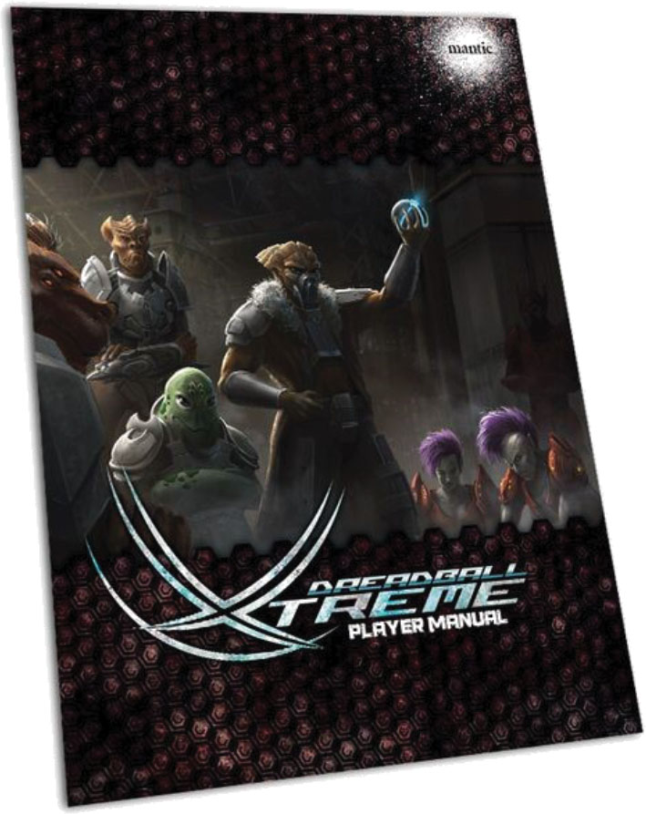 Dreadball Xtreme: Players Manual Box Front