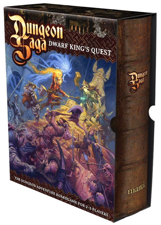 Dungeon Saga: Dwarf King`s Quest Box Front