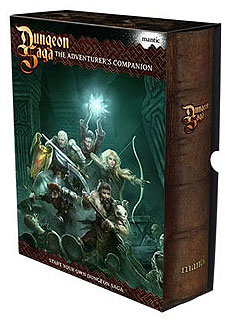 Dungeon Saga: The Adventurer`s Companion Set Box Front