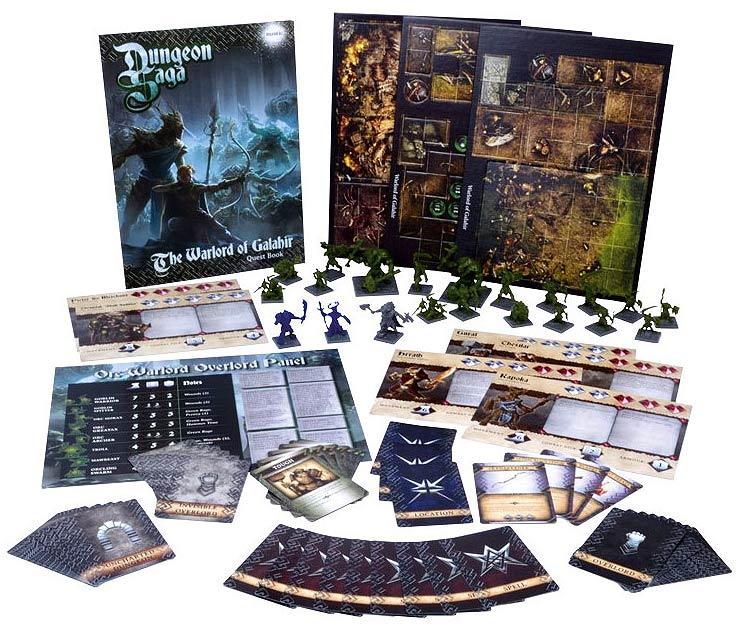 Dungeon Saga: The Warlord Of Galahir Box Front