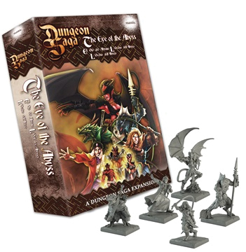 Dungeon Saga: Eye Of The Abyss Box Front